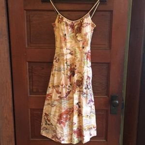 Deweese Designs vintage sundress with built in bra